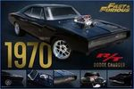 Fast And Furious Dodge Charger - Poster