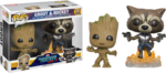 Guardians of the Galaxy: Vol 2 - Groot & Rocket Pop! Vinyl Figure 2-Pack