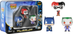 DC - Batman, Harley Quinn & The Joker Pocket Pop! 3-Pack Tin (Pocket Pops #04)