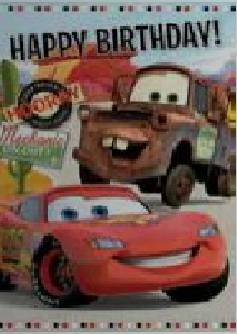 Disney Cars Lightning And Mater Birthday Card Retrospace