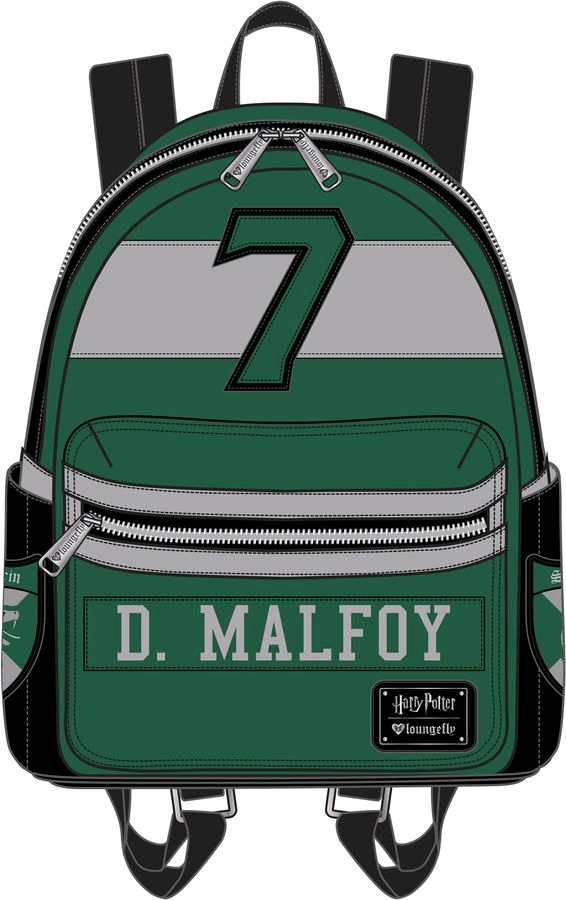 a7ae985303b Harry Potter - Draco Malfoy Mini Backpack - Retrospace