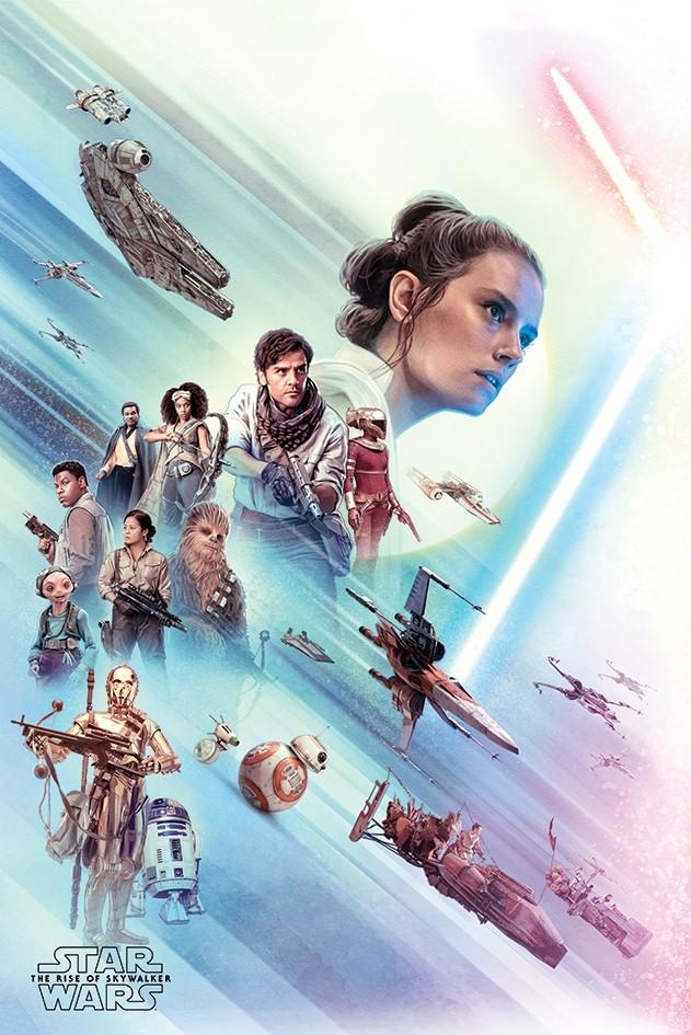 Star Wars The Rise Of Skywalker Rey Poster Retrospace
