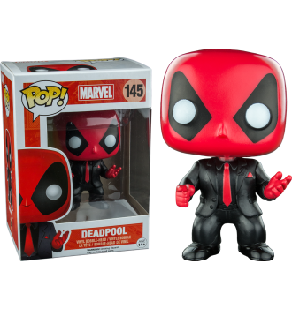 Deadpool Deadpool In Suit Amp Tie Pop Vinyl Figure