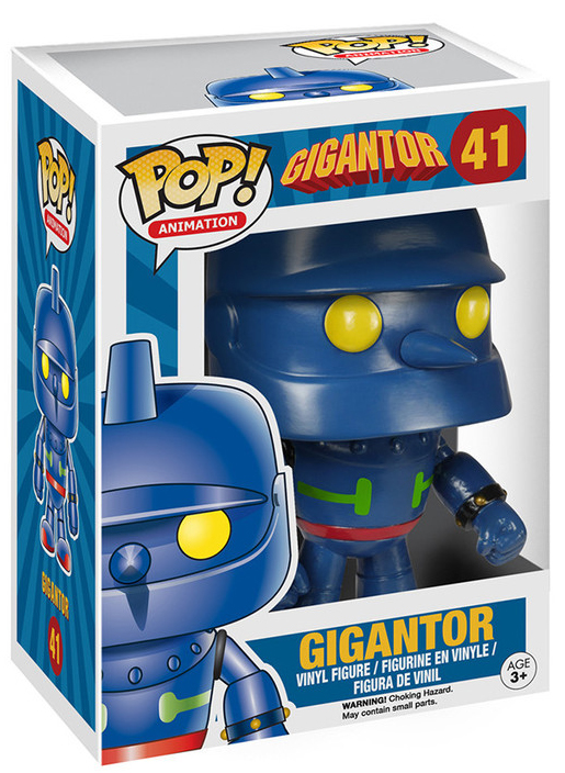 Gigantor Pop Vinyl Figure Animation 41 Retrospace