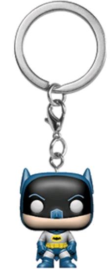 75th Anniversary Purple Batman Keychain New FUNKO Pocket POP
